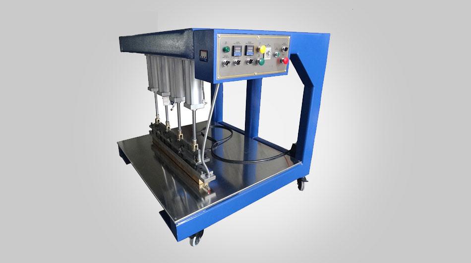 آلة لحام PTFE مع قالب ساخن واحد
